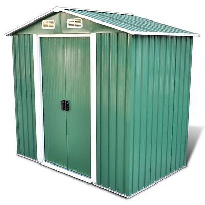 6' x 4' 95.3 f3 Outdoor Steel Garden Storage Utility Tool Shed Backyard w/ Door