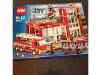 Fire station Lego - new in box
