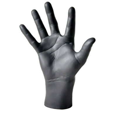 Male Hand Mannequin Simulation Model For Gloves Watches Display Black