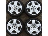 "19"" Bentley Continental gt alloy wheel rims tyres vw caddy golf audi a3 a 4 seat leon mercedes skoda"