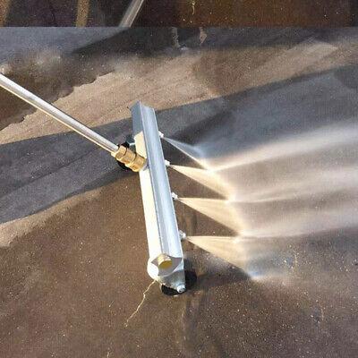 High Pressure Undercarriage Cleaner Pressure Washer For Sidewalk Length 35cm