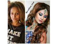Qualified hair and makeup artist Nafesa_mua best offers including bridal packages + basic hijaab