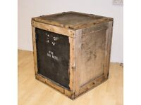 Wooden Crate Box Vintage