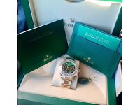 MENS ROLEX DAYTONA GOLD BASELWORLD NEW WITH BOX PAPERS BAG