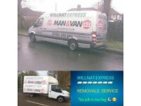RELIABLE MAN AND VAN FROM £25 NO HIDDEN CHARGES AND RUBBISH CLEARANCE