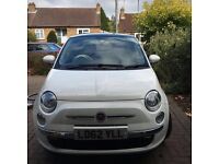 2012 Fiat 500C 1.2 Lounge 2dr leather/aircon/alloys/FSH/CD (start/stop) - 1 female owner