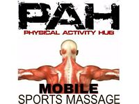 Sports massage and Mobile Sports massage