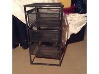 IKEA 3 Drawer metal unit
