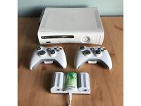 Xbox 360 with 18 games + 2 wireless controllers