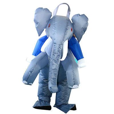Fatsuit gonfiabile del vestito dell'elefante del costume adulto gonfiabile