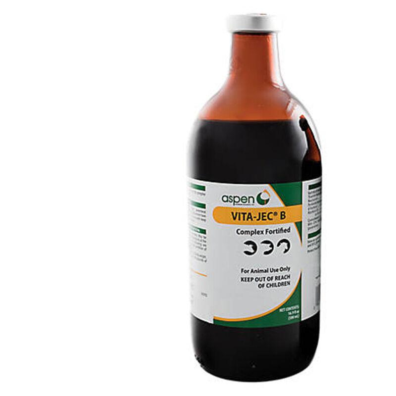 Vita-Jec B Complex Fortified Vitamin B Cattle Swine Sheep 500 ml