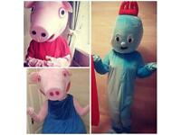 Character Mascot Costume Hire, Childrens party!