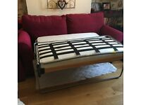 Mechanical sofa bed, great condition, only used as a bed. Used but no wear.