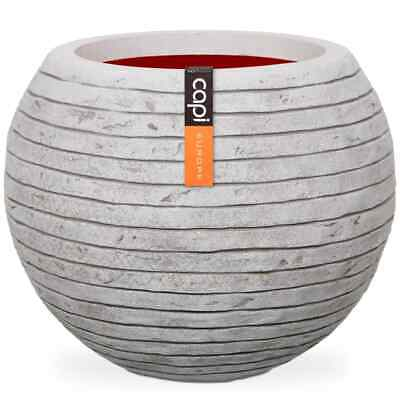 Capi Vase Nature Row Ball 40x32cm Ivory Flower Plant Pot Basket Raised Bed