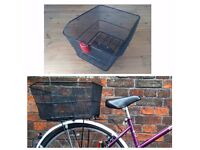 Bike / Bycicle Basket with light