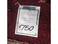 Lovely hand knit rug