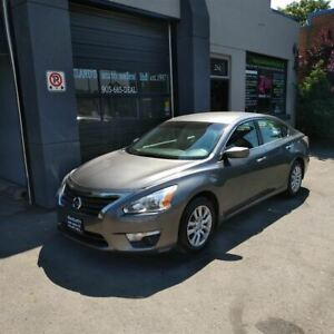 2015 Nissan Altima 2.5 S, REVERSE CAM, AWESOME ON GAS!