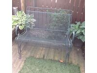 Rocking garden seat