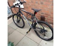 Carerra mountain bike. In mint condition. Only used twice