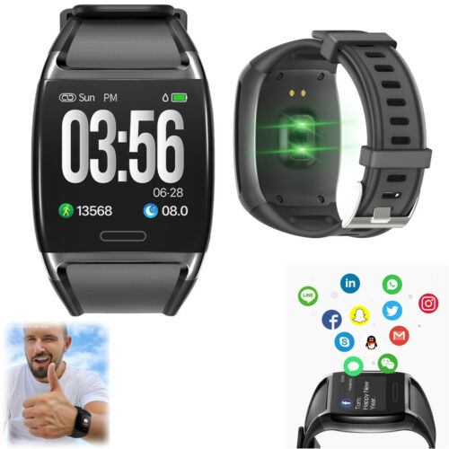 Bluetooth Smart Watch Fitness Tracker Touch Screen Wristwatch for IOS Android Cell Phones & Accessories