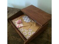 Lovely little antique writeing box