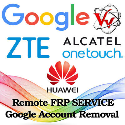 Frp Google Account Removal Zte Alcatel Huawei
