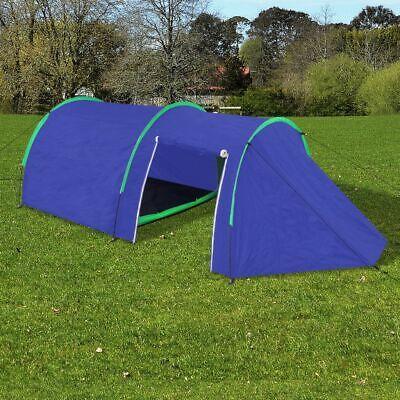 Tenda da campeggio per 4 persone blu marino / verde K6M6