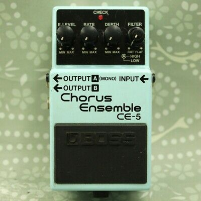 BOSS CE-5 Chorus Ensemble Guitar effect pedal (MR11871)