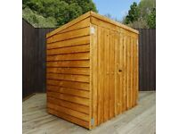 Lawnmower Wooden Shed