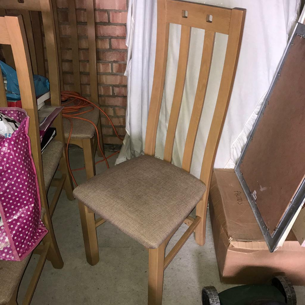 Dining chairs (x6in Gateshead, Tyne and WearGumtree - Perfect condition dining chairs. 6 chairs altogether. Pick up /meet up only. Price is for all 6. Willing to negotiate