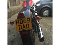 Harley Davidson cherished number