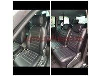 LEATHER CAR SEAT COVERS FOR TOYOTA PRIUS FORD GALAXY VOLKSWAGEN SHARAN SHARON VW TRANSPORTER T5 T6