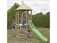 Weekend Offer!!! TP Castlewood Dover Wooden Climbing Frame& Slide - RRP £450