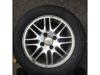 4X4 Alloy Wheels + NEW TYRES Ford Focus
