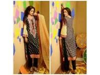 Lala Classic Crinkle Lawn unstitched suits
