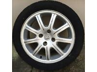 Peugeot 206cc alloy wheal