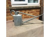 Sturdy old hawes watering can