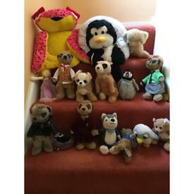 Job lot cuddly plush toy