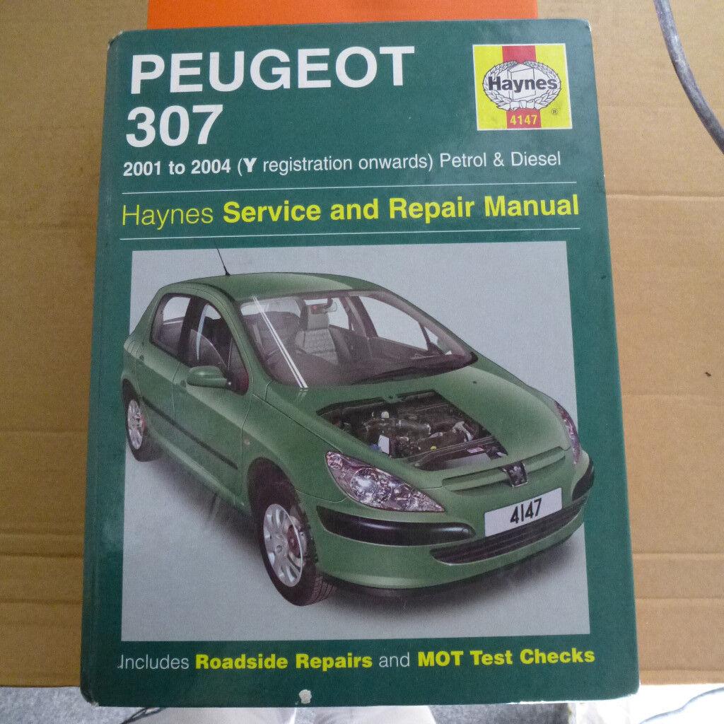 Haynes Peugeot 307 Workshop Manual