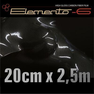 Carbonfolie SOTT Elemento-6   20 cm x 2,5 m