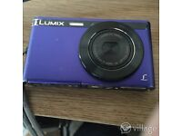 LUMIX pocket camera.