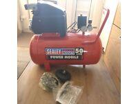 Sealey SA5020 50L 2Hp/1.5KW Direct Drive Air Compressor