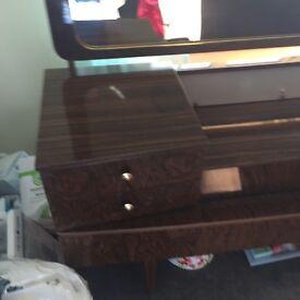 Genuine old bedroom dresser