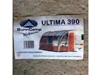 Porch Awning. Ultima 390
