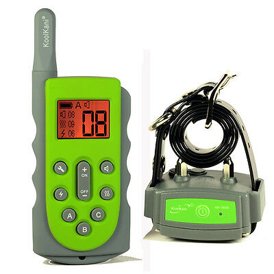 650Yards Rechargeable Submersible Remote Dog Training Collar Pet Trainer LCD UK