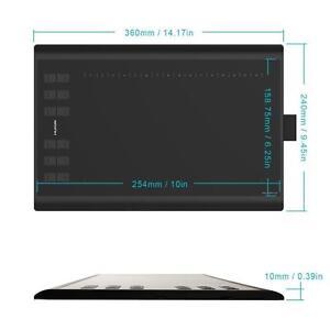 Drawing 12 Express Key 5080 LPI Tablet Tablette Dessin 24007
