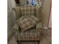Queen Ann chair never used