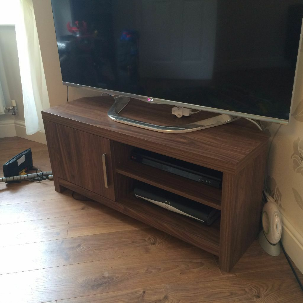 NEXT Mode Walnut Corner TV Unit& Storage in Marshfield, Cardiff Gumtree