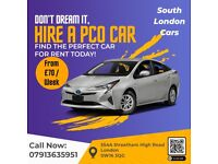 **£70 PER WEEK** / PCO Car Rent/ PCO Car Hire / Rent / Uber / Toyota Prius [Streatham Office]