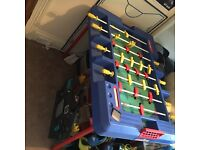 Large football/games table